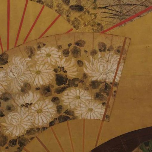 Japanese fan screen 3