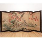 meiji Japanese screen