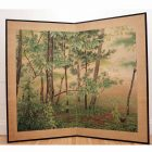 Taisho floral screen1