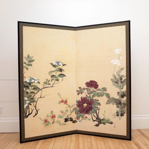 Two panel flower screen5