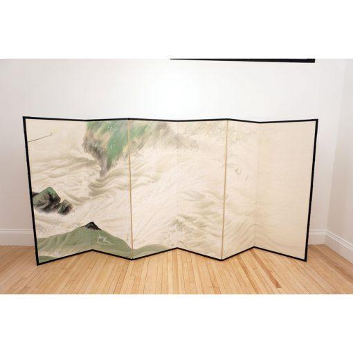 Taisho six fold screen1