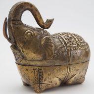 brass antique box