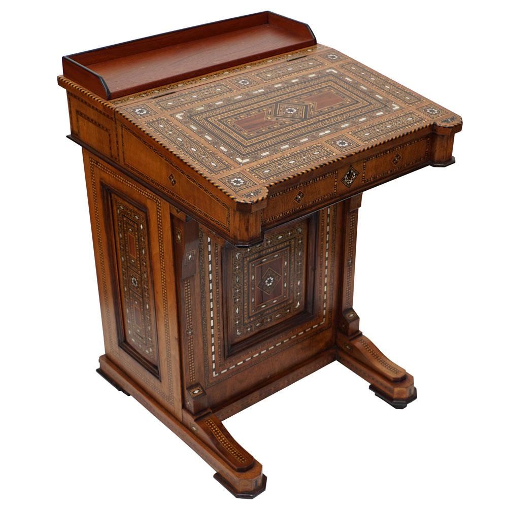 - Davenport Desk Syrian Sutter Antiques Hudson, NY