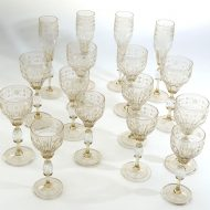 venetian glass set