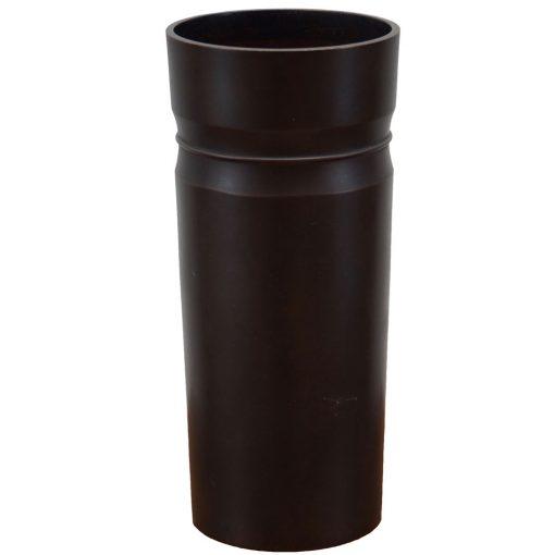 bronze cylinder vase