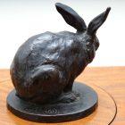 signed bronze rabbit3