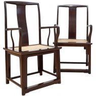 Chinese hardwood chairs