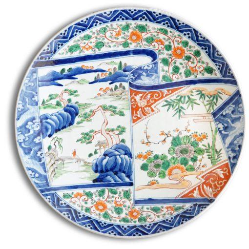 large imari platter
