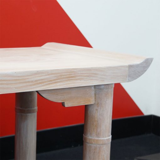 bleached wood console3