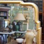 queen anne mirror detail