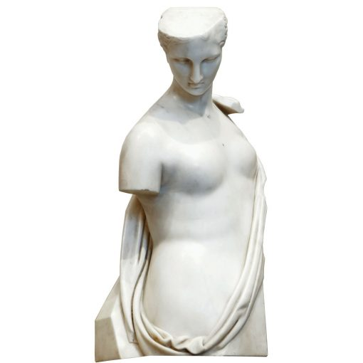 psyche marble bust