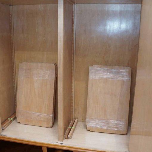 deco cabinet interior