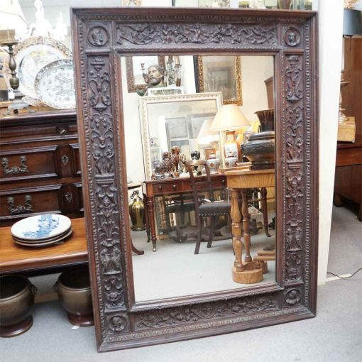 Tuscan carved mirror2