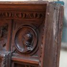 Tuscan carved mirror5