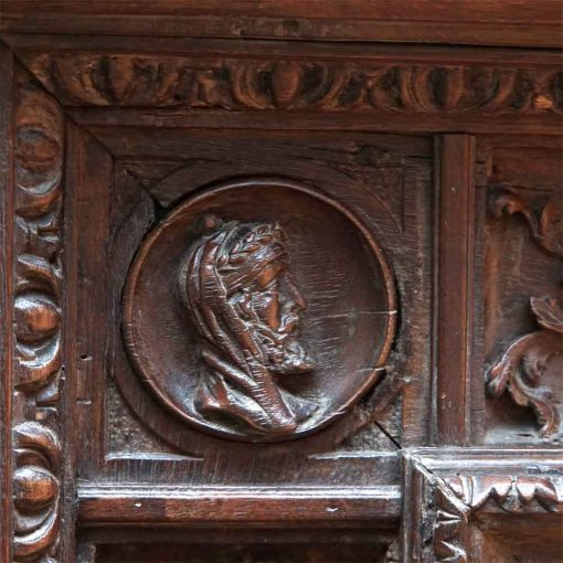 Tuscan carved mirror7