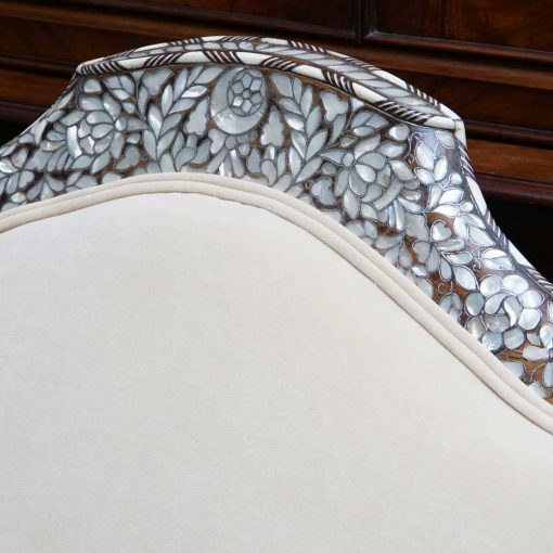 middle eastern settee detail