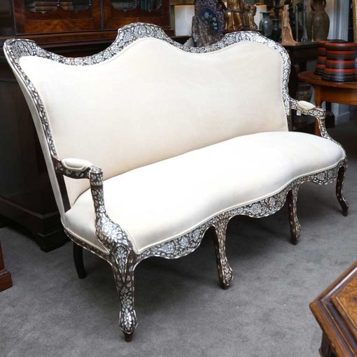 middle eastern settee profile