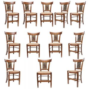 twelve French chairs main