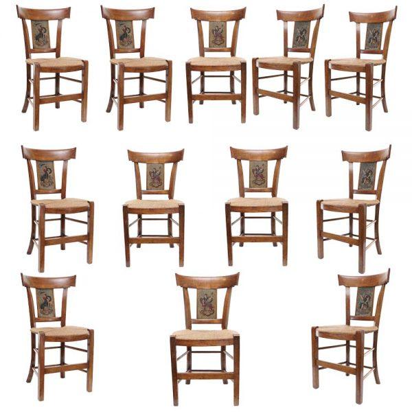twelve French chairs main