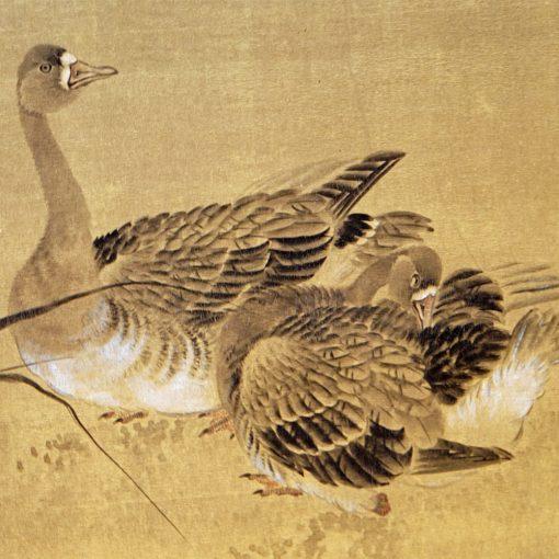 Geese taisho screen2