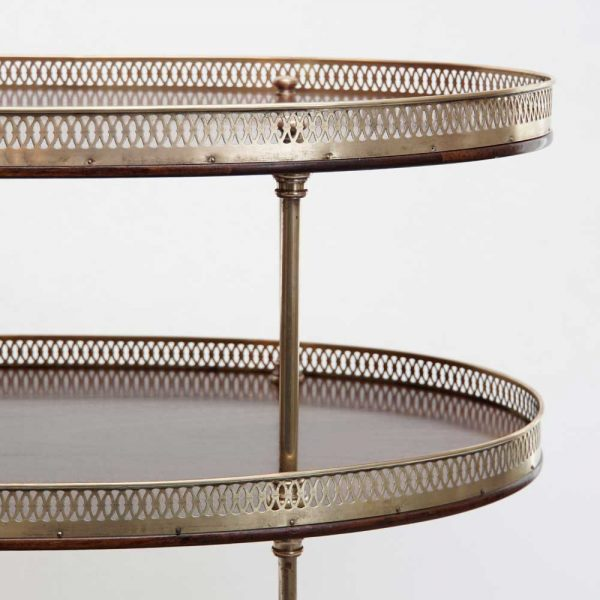 three tier table detail