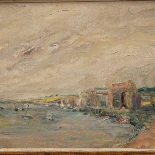 Alexander Beattie painting