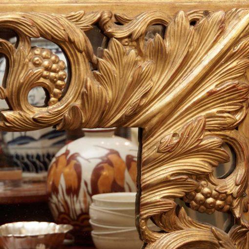 Italian mirror detail