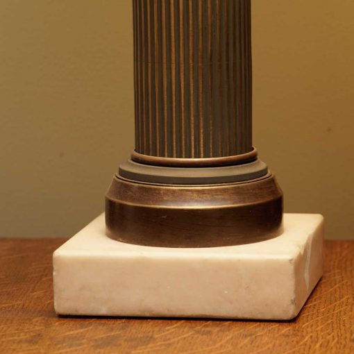 bronze lamps base