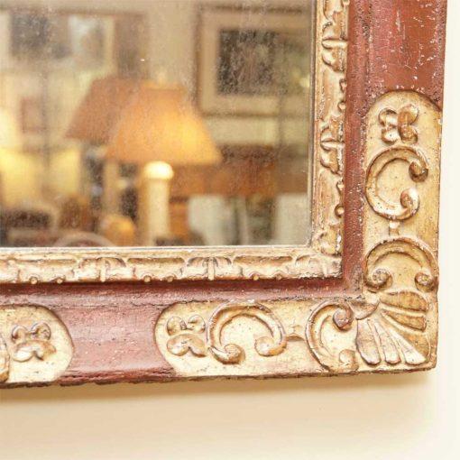 Italian painted mirror